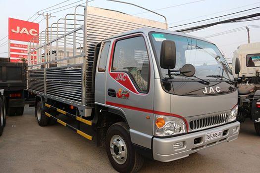 Bán xe tải jac 9T1 9,1 tấn thùng mui bạt máy cn Faw - xe tải jac 9t1 9,1 tấn thùng bạt