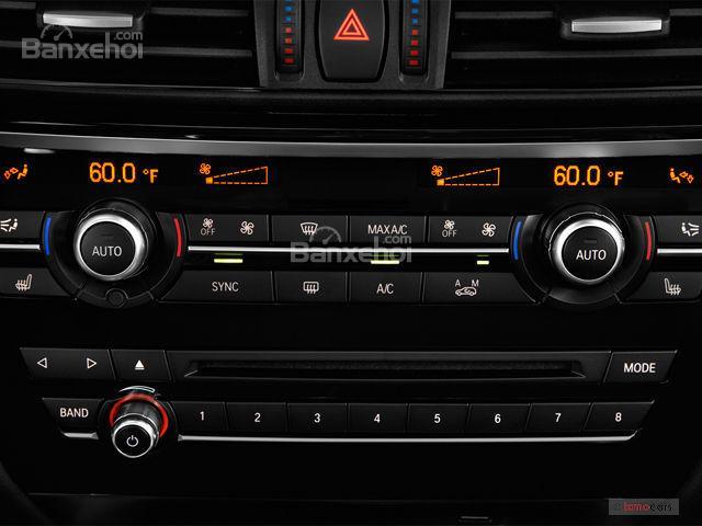 Điều hòa nhiệt độ xe BMW X6 2018 25