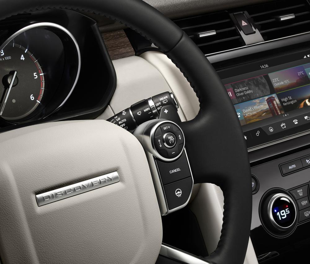 Nút điều chỉnh vô lăng xe Land Rover Discovery 2018 20