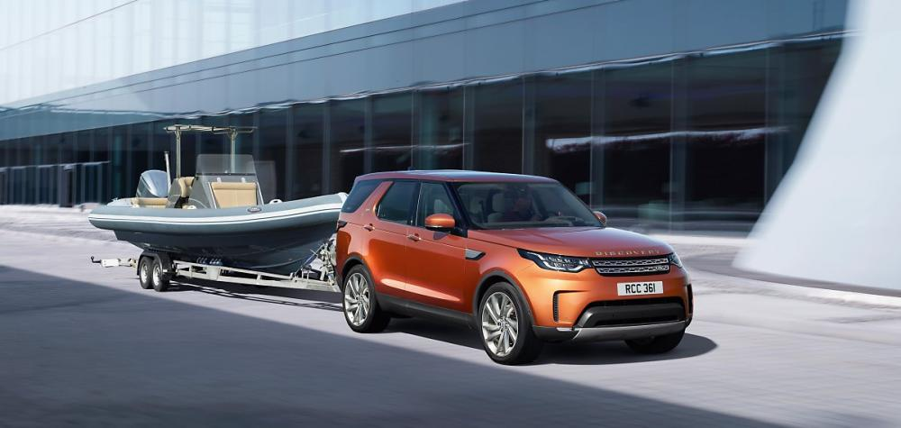 Ngoại thất xe Land Rover Discovery 2018 2