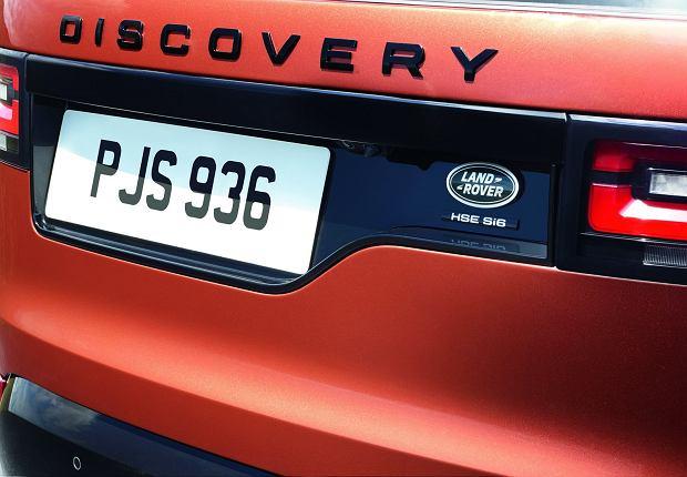Đuôi xe Land Rover Discovery 2018 12