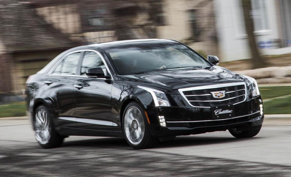 Cadillac ATS 3