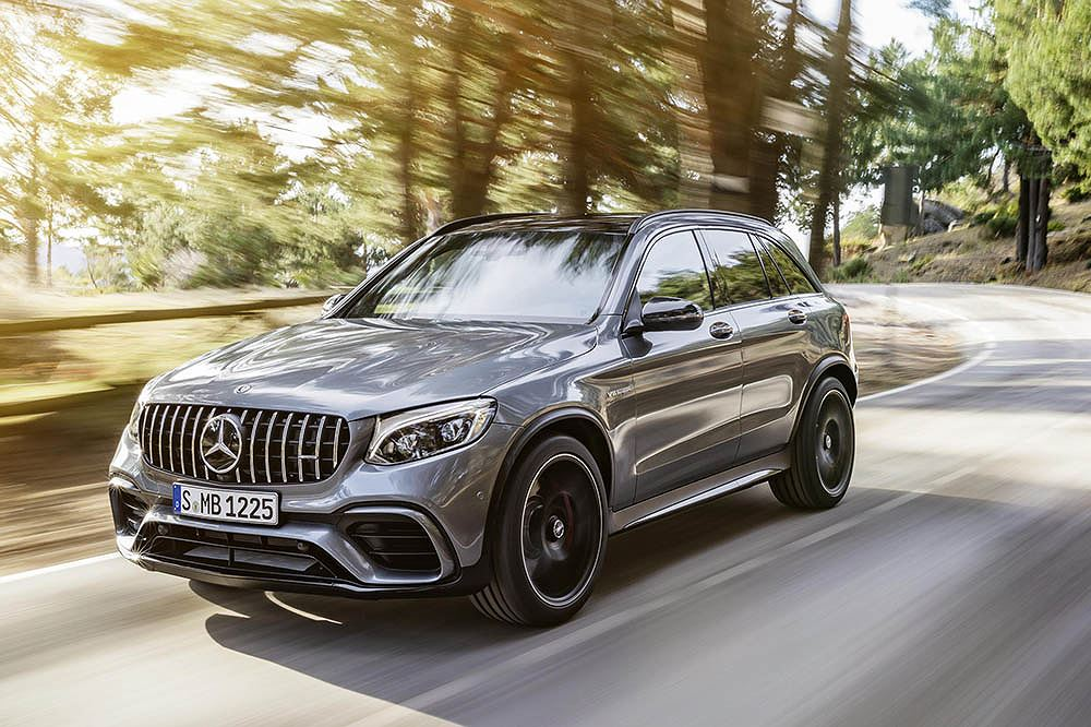 Mercedes-AMG GLC 63 S 4MATIC+/GLC 63 S 4MATIC+ Coupe 2018: 3,8 giây 4