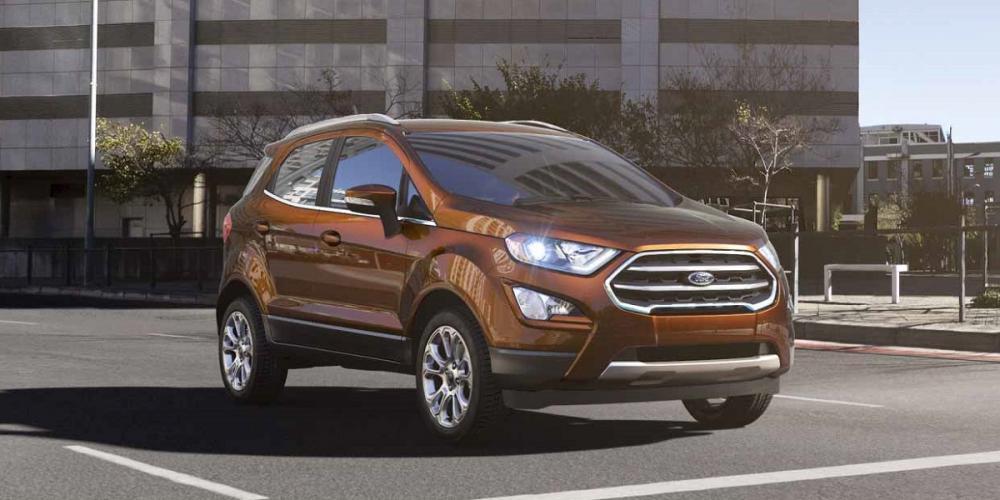 Ford Ecosport Titanium 2018 có ngoại thất bắt mắt