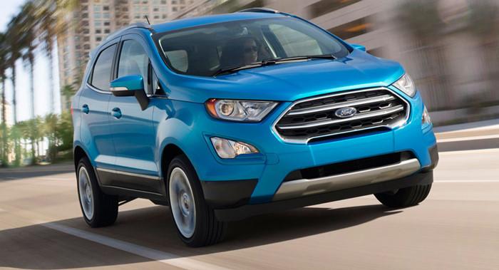 Giá xe Ford Ecosport Titanium 2018 được đánh giá là khá mềm so với phân khúc