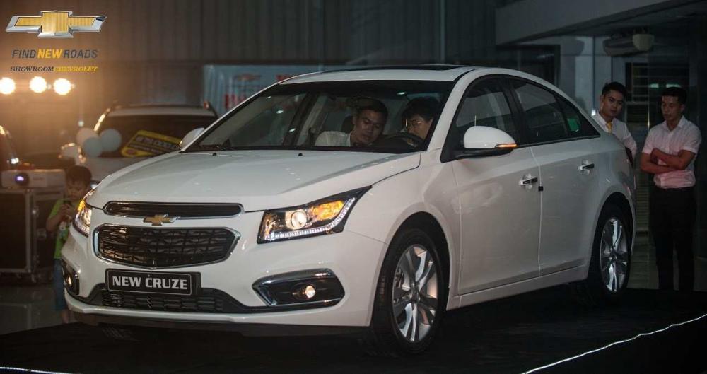 Chevrolet Cruze 2018: Sang trọng từng chi tiết