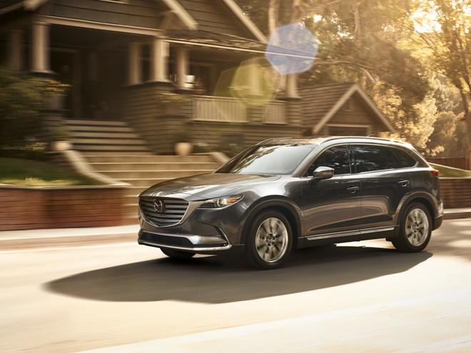 Mazda CX 9 2018: Sang trọng từng chi tiết