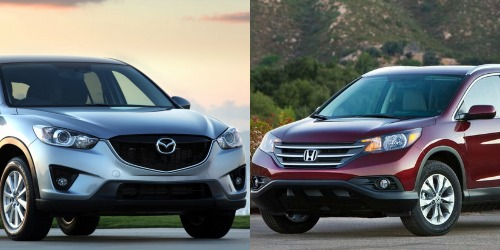 Honda CRV 2018 và Mazda CX5: Ai mạnh hơn