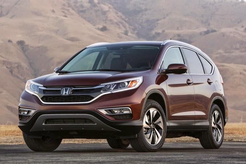 Honda CRV 2018: Mẫu xe gia đình yêu thích nhất