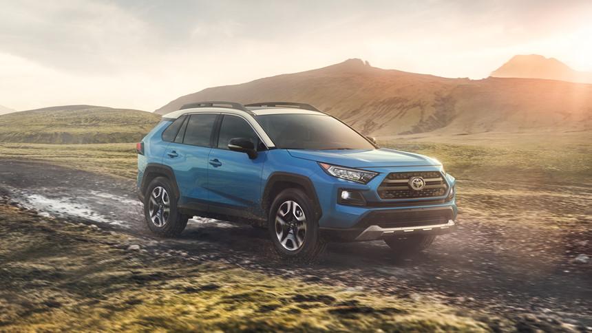 Toyota RAV4 2019: Cảm giác lái thể thao