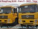 Ưu điểm của xe tải DongFeng B180 mới 2019. Xe tải DongFeng B180 Hoàng Huy 2019