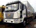 Bán xe tải Faw 7T2 thùng kín dài 9m65 giá tốt giao xe ngay