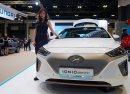 Công nghệ xe điện Hyundai Ioniq khoe tài tại triển lãm Singapore 2018