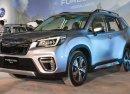 Subaru Forester 2019 lộ diện trước khách hàng châu Á, chưa có giá chính thức