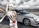 Người đẹp và siêu xe thể thao Porsche 911 Carrera 4S