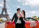Nữ giảng viên Đại học Ngoại ngữ Hà Nội sexy bên siêu xe Ferrari và chồng sắp cưới