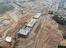 Ngắm đường đua F1 tại Hà Nội đang dần hình thành từ trên cao
