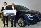 Hãng xe Hàn Quốc trao tặng HLV Park Hang-seo xe sang BMW X4