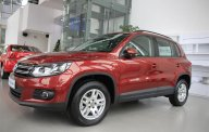 Bán xe Volkswagen Tiguan năm 2015, màu đỏ, xe nhập giá 1 tỷ 390 tr tại Tp.HCM