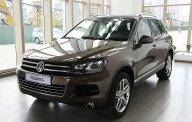 Cần bán Volkswagen Touareg đời 2015, màu nâu, nhập khẩu nguyên chiếc giá 2 tỷ 442 tr tại Tp.HCM