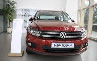 Bán Volkswagen Tiguan đời 2015, màu đỏ, nhập khẩu giá 1 tỷ 350 tr tại Tp.HCM