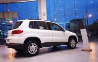 Bán xe Volkswagen Tiguan 2015, màu trắng, nhập khẩu chính hãng giá 1 tỷ 350 tr tại Tp.HCM