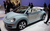Cần bán lại xe Volkswagen New Beetle năm 2004, màu xanh ngọc giá 510 triệu tại Tp.HCM