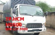 TP. HCM Thaco Hyundai HD500, màu trắng, giá cạnh tranh, thùng mui bạt tôn đen giá 597 triệu tại Tp.HCM