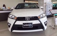 Bán Toyota Yaris 1.5E 2017 số tự động vô cấp, màu trắng, nhập khẩu chính hãng Thailand giá 592 triệu tại Tp.HCM