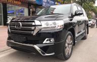 Bán xe Toyota Land Cruiser VXS 4.6 đời 2017, màu đen, xe nhập giá 5 tỷ 290 tr tại Hà Nội