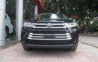 Bán Toyota Highlander đời 2017, màu đen, xe nhập giá 2 tỷ 598 tr tại Hà Nội