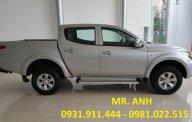 Mitsubishi Triton mới màu bạc, nhập khẩu giá 570tr - LH Đông Anh: 0931911444 để có giá tốt giá 570 triệu tại Đà Nẵng
