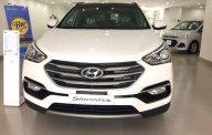 Cần bán Hyundai Santa Fe 2.2L máy dầu sản xuất 2018, màu trắng, giá tốt nhất miền nam giá 1 tỷ 80 tr tại Tp.HCM