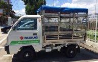 Bán Suzuki Super Carry Truck đời 2017, màu trắng, xe chở gia cầm 245tr. LH 0911935188 giá 245 triệu tại Hải Phòng