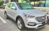 Cần bán xe Hyundai Santa Fe đời 2018, màu bạc giá 1 tỷ 140 tr tại Tp.HCM