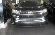 Bán ô tô Toyota Highlander đời 2016, màu đen, nhập khẩu giá 2 tỷ 400 tr tại Hà Nội