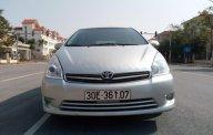 Bán Toyota Wish 2.0AT đời 2009, màu bạc, nhập khẩu nguyên chiếc giá 450 triệu tại Hà Nội