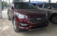 Hyundai Giải Phóng- Hyundai Santa Fe full xăng 2.2 đời 2018, màu đỏ, giao xe ngay giá 1 tỷ 20 tr tại Hà Nội