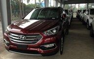 Bán Hyundai Santa Fe - Hyundai Santa Fe full xăng 2.2 sản xuất năm 2018, màu đỏ giá 1 tỷ 20 tr tại Hà Nội