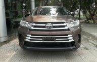 Bán Toyota Highlander 2017, màu nâu, xe nhập giá 2 tỷ 350 tr tại Hà Nội