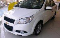 Bán xe Aveo màu trắng giảm 60tr trong tháng 5 - Trả trước 80tr nhận xe ngay- Lãi suất ưu đãi giá 459 triệu tại Tp.HCM