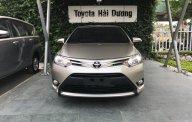 Bán xe Toyota Vios E đời 2018, màu nâu vàng, giá 490tr tại Toyota Hải Dương giá 490 triệu tại Hải Dương