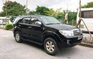 Bán xe Toyota Fortuner G 2010, màu đen, nhập khẩu giá 625 triệu tại Hà Nội