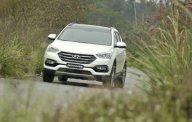 Cần bán xe Hyundai Santa Fe Full đời 2016, màu trắng giá 1 tỷ 65 tr tại Đà Nẵng