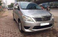 Bán xe Toyota Innova E năm 2013, màu bạc, hỗ trợ ngân hàng lên tới 70% giá 512 triệu tại Hà Nội