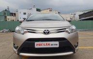 Bán Toyota Vios E sản xuất 2017, màu vàng, 506tr giá 506 triệu tại Tp.HCM