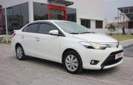 Cần bán Toyota Vios 1.5 G năm 2016, màu trắng, xe zin, bao test giá 566 triệu tại Tp.HCM