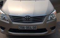 Bán xe Toyota Innova E đời 2013, màu vàng giá 540 triệu tại Hà Nội