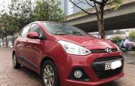 Bán xe Hyundai i10 1.2 AT sản xuất 2016, màu đỏ, nhập khẩu nguyên chiếc giá cạnh tranh giá 410 triệu tại Hà Nội
