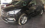 Cần bán Hyundai Santa Fe 2018, màu đen giá 1 tỷ 100 tr tại Tp.HCM